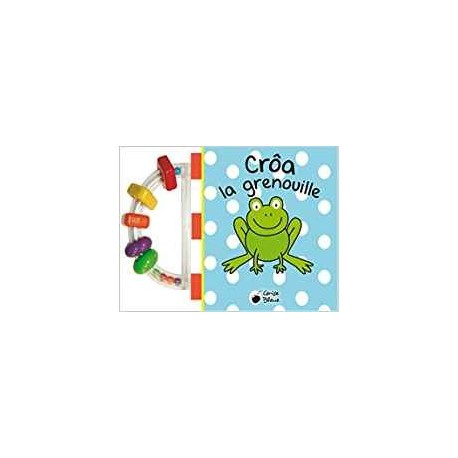 Crôa, la grenouille (Livre-bain)