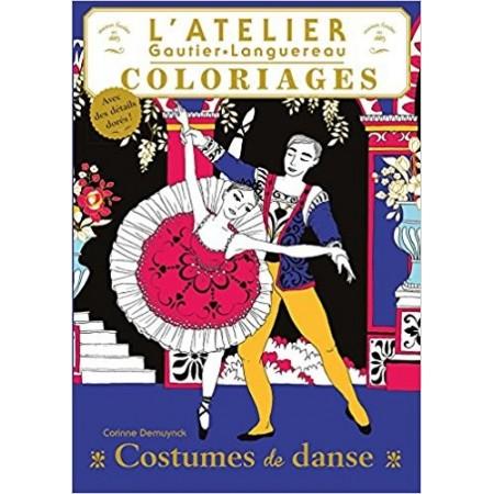 Les plus beaux costumes de danse: Coloriages