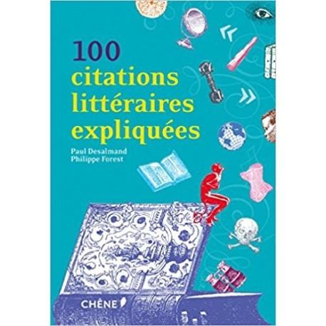 100 citations littéraires expliquées