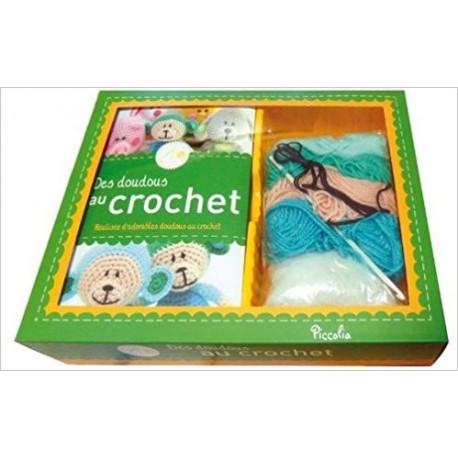 Des doudous au crochet - Boîtes crochet tricot tendance (Boîte)