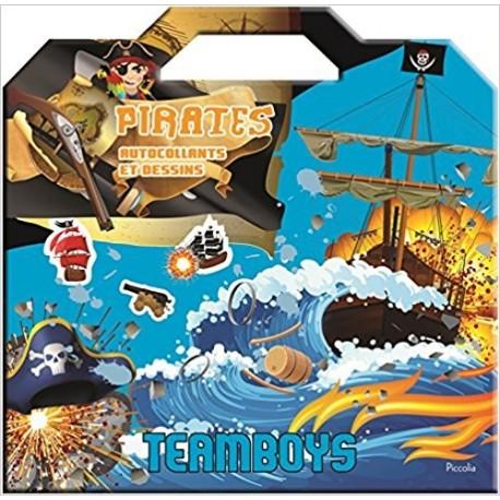 Pirates : autocollants et dessins