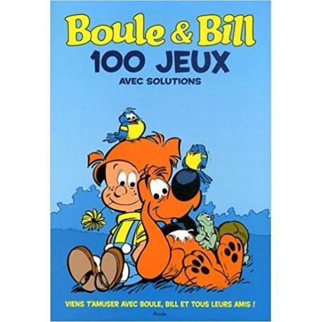 Boule et Bill 100 jeux pour t'amuser avec tes héros préférés