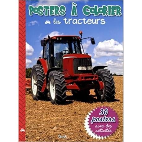 Les tracteurs - Posters à colorier