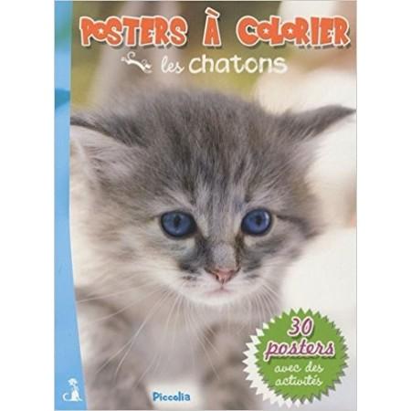 Les chatons - Posters à colorier