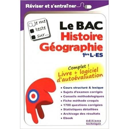 Je me teste sur : Le BAC - Histoire Géographie Première L-ES