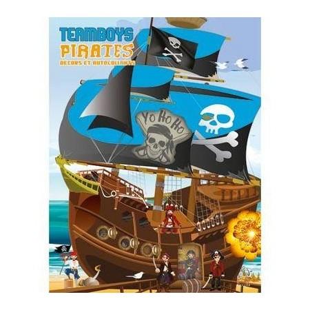 Pirates : décors et autocollants