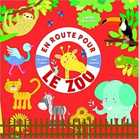 En route pour le zoo - 6 mini imagiers