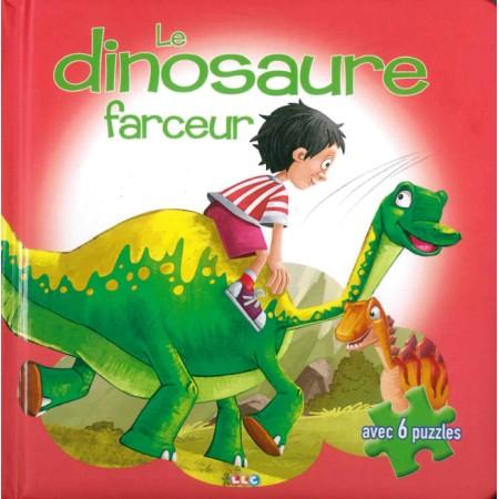 Le dinosaure farceur Livre puzzle