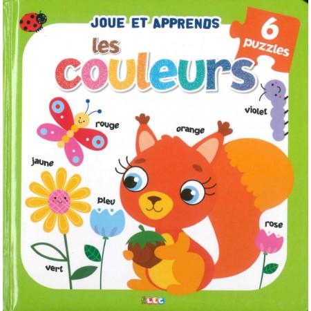 Joue et apprends Les couleurs Livre puzzle