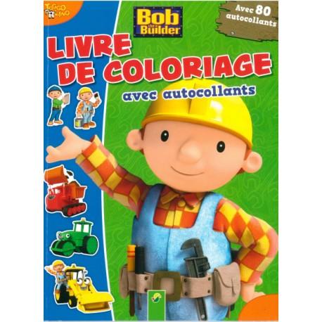 Bob le bricoleur Livre de coloriage