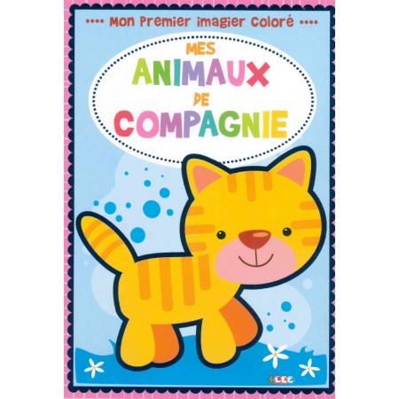 Mon premier imagier coloré Les animaux de compagnie