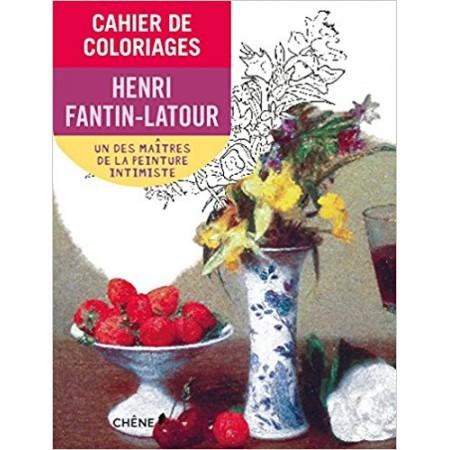 Cahier de coloriages Henri Fantin-Latour Petit format
