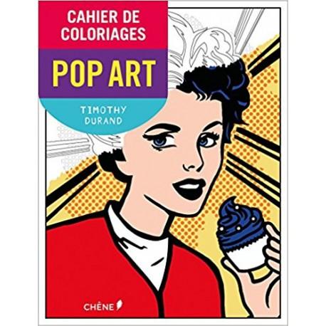 Cahier de coloriages Pop Art petit format