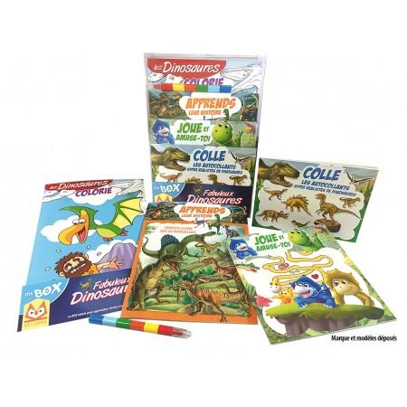 Ma box Fabuleux dinosaures Coffret