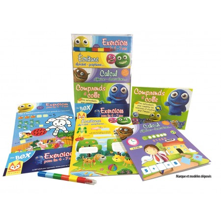 Ma box Exercices 4-7 ans Coffret