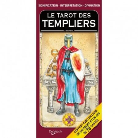 COFFRET TAROT DIVINATOIRE DES TEMPLIERS