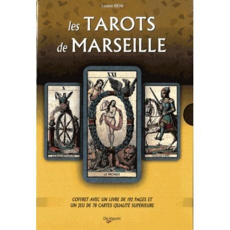 LES TAROTS DE MARSEILLE - AVEC UN JEU DE 78 CARTES (COFFRET)