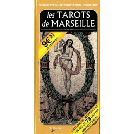 LES TAROTS DE MARSEILLE - AVEC UN JEU DE 78 CARTES ILLUSTRÉES (COFFRET)