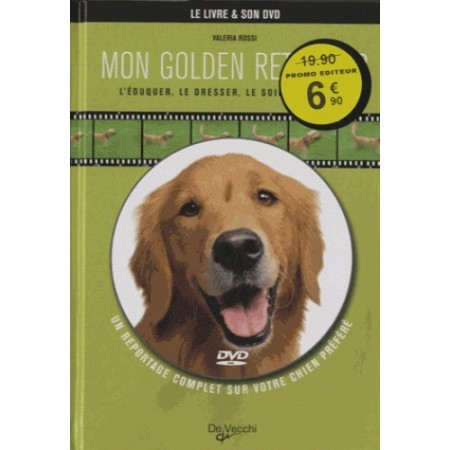 MON GOLDEN RETRIEVER AVEC 1 DVD