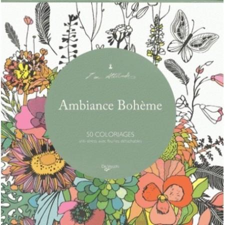 AMBIANCE BOHÈME - 50 COLORIAGES
