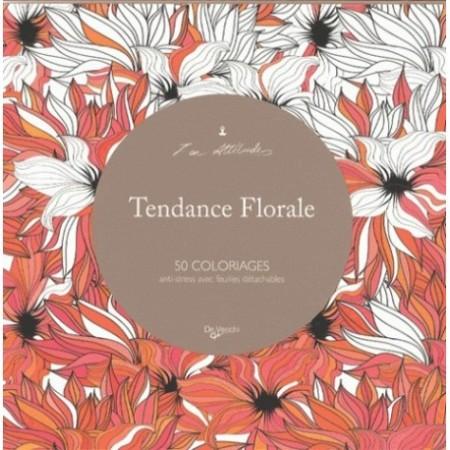 TENDANCE FLORALE - 50 COLORIAGES
