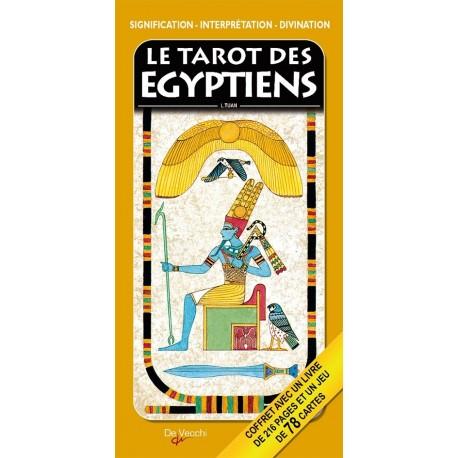 COFFRET TAROT DIVINATOIRE DES ÉGYPTIENS