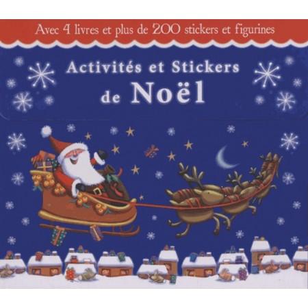 COFFRET Activités et Stickers de Noël
