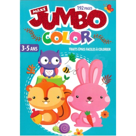 Maxi jumbo color 3-5 ans