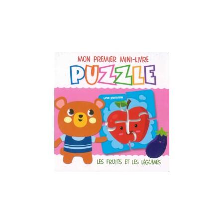 Mon premier mini-livre puzzle Les fruits et les légumes