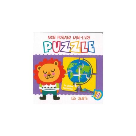Mon premier mini-livre puzzle Les objets