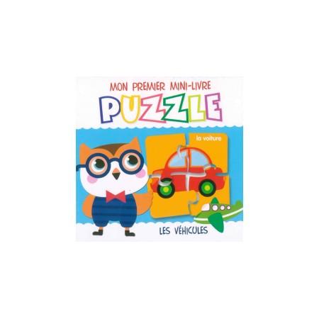 Mon premier mini-livre puzzle Les véhicules