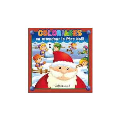 Coloriages En attendant le Père Noël