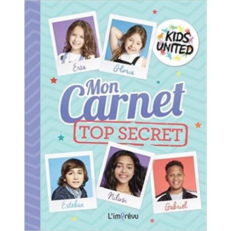 Mon carnet top secret Kids United