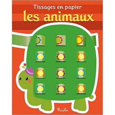 Tissages en papier Les animaux