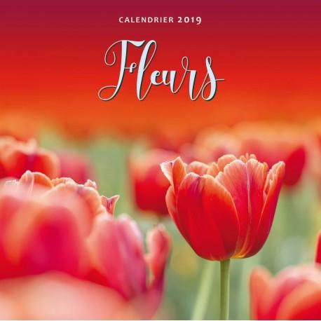 Calendrier 2019 Fleurs