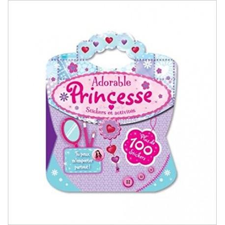 Adorable princesse - Stickers et activités