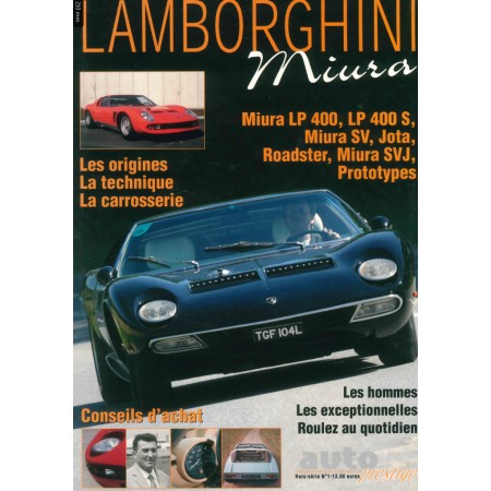 Lamborghini Miura Rétro passion Hors série N° 1