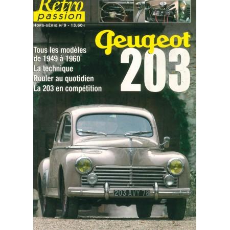 Peugeot 203 Rétro passion Hors série N° 9