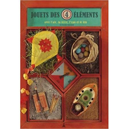 Jouets des 4 éléments, avec l'air, la terre, l'eau et le feu
