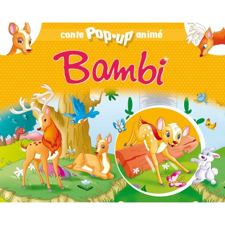 Conte pop-up anime Bambi