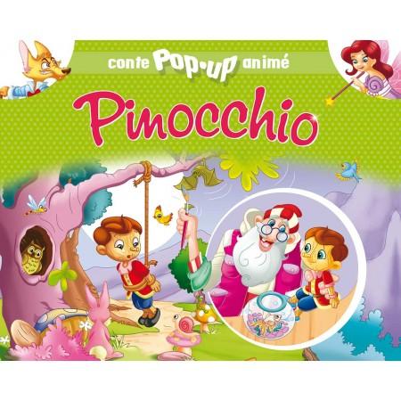 Conte pop-up anime Pinocchio