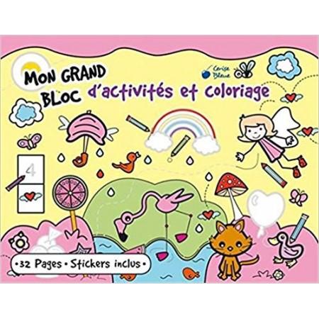 Mon grand bloc d'activités et coloriage