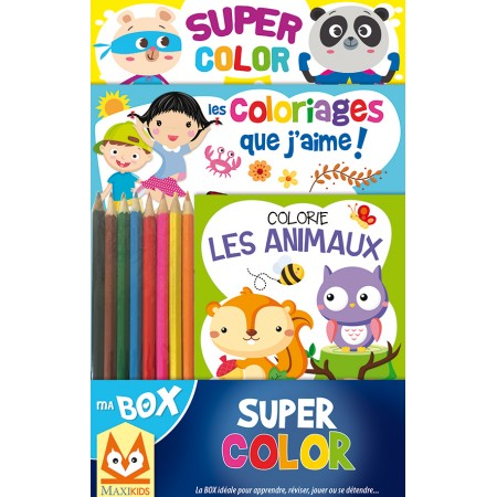 Ma box Super Color Coffret