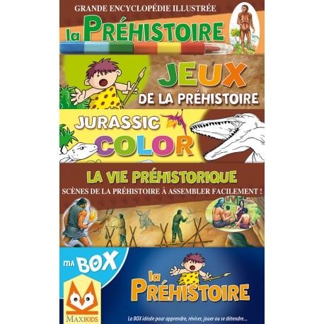 Ma box La Préhistoire Coffret