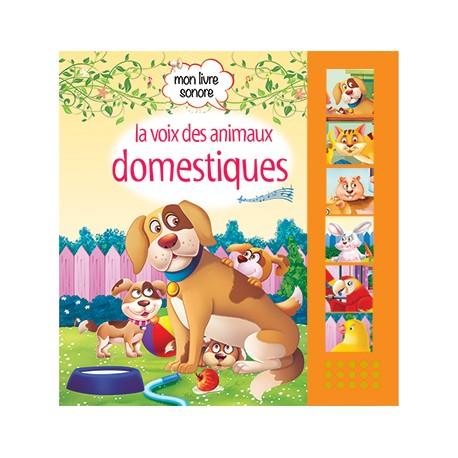 Mon livre sonore La voix des animaux domestiques