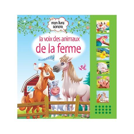 Mon livre sonore La voix des animaux de la ferme