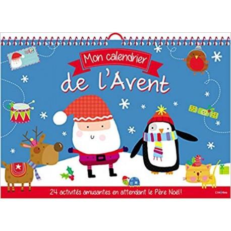 Mon calendrier de l'Avent - 24 activités amusantes en attendant le Père Noël !