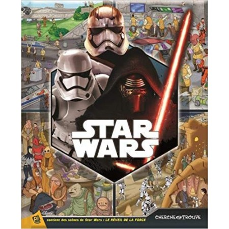 Star Wars Le réveil de la force - Cherche et trouve
