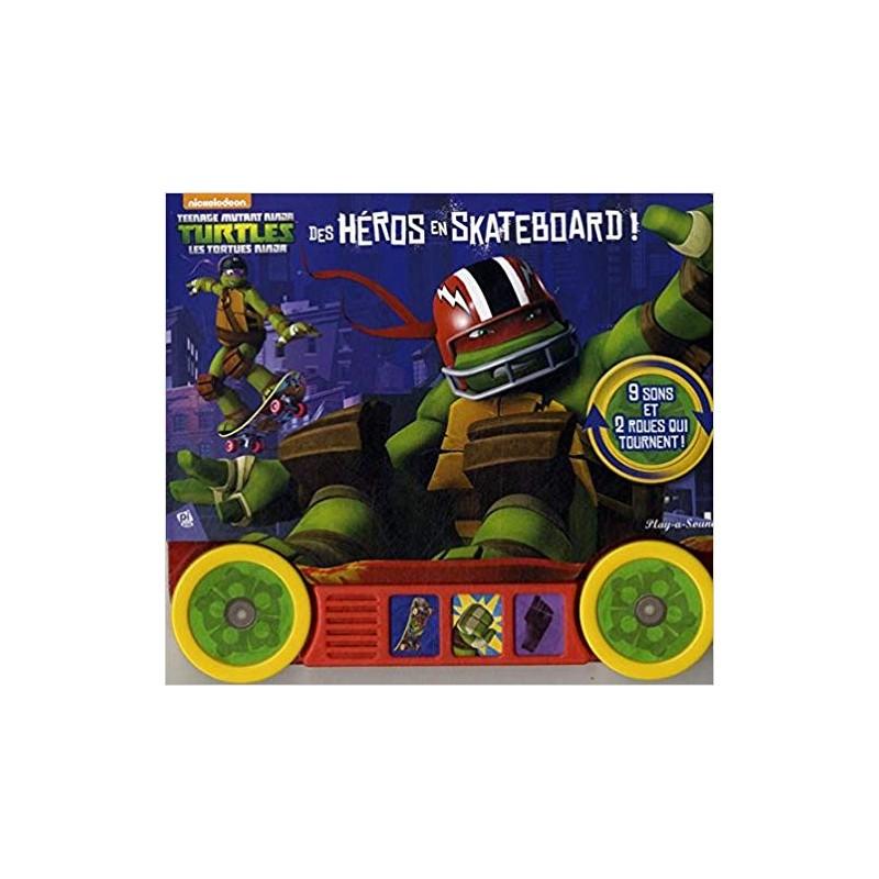 Jeunesse teenage mutant ninja turtles les tortues - Tortue ninja skateboard ...