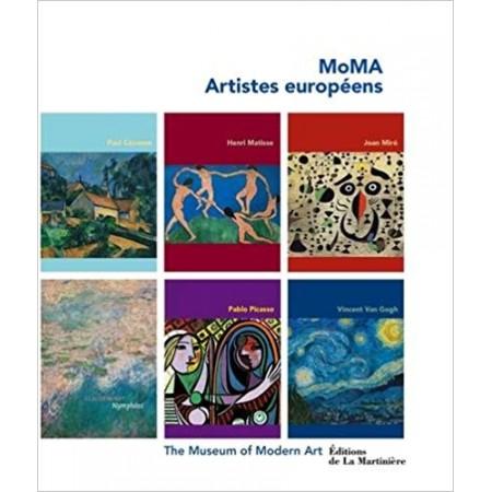 Coffret MoMA, artistes européens en 6 volumes